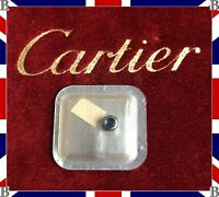 Genuine Cartier Santos Ronde Crown Steel & Blue Sapphire 4.7 mm VC070121 MM
