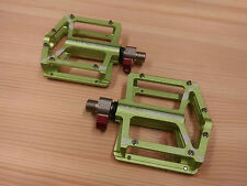 Wellgo Montague paratrooper  MTB BMX DH CNC quick release Pedals - green