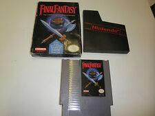FINAL FANTASY ORIGINAL GAME with BOX NINTENDO SYSTEM NES HQ BOX #A3