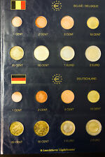Europe Coin BU Euro Collection Complete Sets from 12 Countries