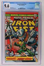 Marvel Premiere #21 - Marvel 1975 CGC 9.6 Iron Fist! 1st App of Misty Knight!