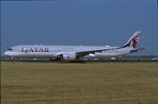 ZRH16  Original aircraft slide/Dia  Qatar Airways A350 A7-ANI