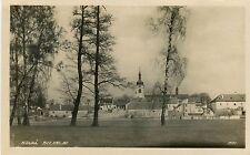 Czech Stara Boleslav - Total View old real photo sepia postcard