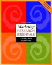 Marketing Research Essentials with SPSS by McDaniel, Carl