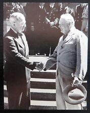 "POSTCARD Churchill & Truman ""Never Despair"" Potsdam 1945 Unused NK709"