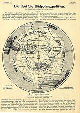 Die deutsche Südpolarexpedition * Originalbericht v. Prof.Erich v.Drygalski 1900