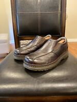 DR MARTENS AIR CUSHION SOLE LOAFERS SHOES TEVIN BROWN LEATHER UPPERS 10M MENS