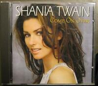 "SHANIA TWAIN ""COME ON OVER"" - CD"