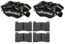 "WILWOOD DYNAPRO BRAKE CALIPERS & PADS,1.25"",1.75,STREET / STRIP,HOT ROD"