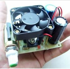 LM338K Adjustable power supply In 3-36V Out 1.2-30V 5A Converter w/cooling fan