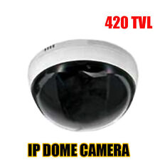 1/3 SONY  CCD 420 TVL network 3.6mm Indoor Home Security CCTV IP Dome Camera NEW