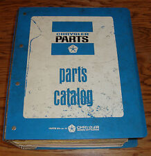 1972 1973 Dodge Light Medium Heavy Truck Motor Home Chassis Mopar Parts Catalog