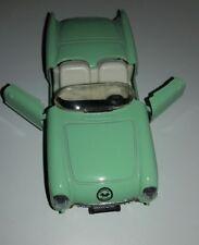 1956 Pistachio Green Chevrolet  Corvette Die Cast Model Car TOY SS 4310