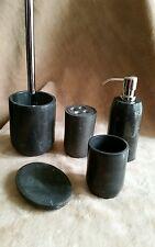 Cinque pezzi di marmo Set accessori bagno
