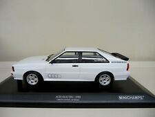 1:18 Minichamps Audi Quattro Baujahr 1980 weiß weiss NEU NEW
