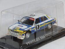 PEUGEOT 504 Safari Rally 1976 #2 - Nicolas - Lefebvre - Die Cast 1:43