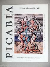 Picabia Art Gallery Exhibit PRINT AD - 1990 ~~ Les Trois Graces