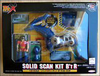 B'T X Solid Scan Kit B'T R FIGURE Raido with blood donor Ron By Takara RARE ITEM