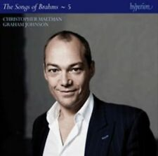 The Songs of Brahms, Vol. 5 (CD, 2014, Hyperion) new