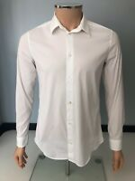 Balenciaga Mens Fitted Shirt, Size 39, Medium, White, Vgc