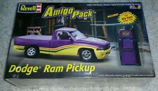 New 1/25 Revell Dodge Ram Pickup Amigo Pack + Die Cast Dodge Ram Model Kit 6688