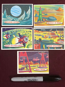 5 TARGET MOON CARDS LOT 2