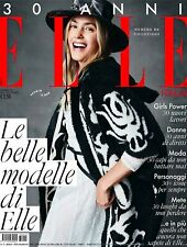 ELLE Italia Magazine December 2017 YASMIN LE BON Monica Bellucci SEALED