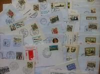 storia postale - Italia 1984 - 49 oggetti postali editori vari - annuli vari