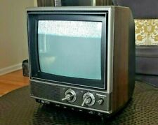 Vintage Panasonic Crt Color Tv 1980s Retro Gaming Solid State Television Works