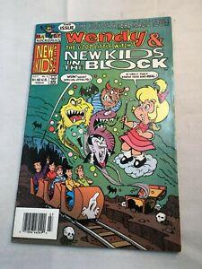 Wendy & New Kids on the Block - Harvey - #3, July 1991 - VG-VF - P2974