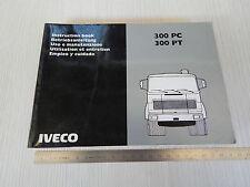 MANUALE USO MANUTENZIONE ORIGINALE CAMION IVECO FIAT 300 PC PT 1985