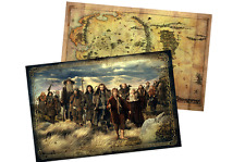 Lord-of-The-Rings-Middle-Earth-The-Hobbit-Middle-Earth-map-Prop-collect-NEW