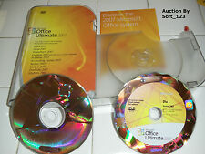MS Microsoft Office 2007 Ultimate Full Version Licensed for 2 PCs =NEW BOX=