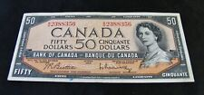 1954   Fifty  Dollar Bank Note  -  $50.00  -  Very Nice Collectable Note
