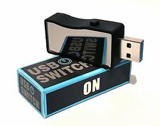 USB ON / OFF SWITCH USB 3.0 & 2.0 for storage devices external hard drives etc.