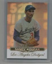 2011 Topps Tribute Baseball #12 Sandy Koufax (Box DP)