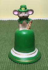 Irish Mouse Dinner Bell for St. Patty's Day