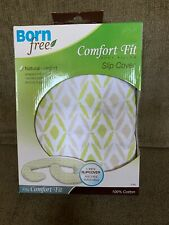Born Free  Comfort fit BODY PILLOW Quilted Slip Cover 47760-DISC White green