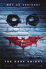 DARK KNIGHT - 2008 - Original D/S 27x40 Movie Poster - BRICK WALL Advance style