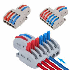 5pcs 46 Splicing Wire Connector Lever Nuts Terminal Block New