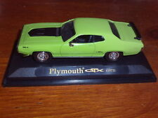 Road Signature Diecast - 1/43 Scale - 1971 Plymouth GTX Green