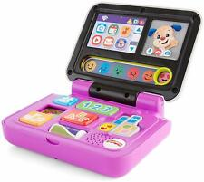 Fisher-Price Laugh & Learn Click and Learn Laptop, ABC 123 Shapes Colors