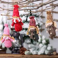 Christmas Angel Dolls Christmas Tree Hanging Pendant Home Xmas Decor Ornament_ti
