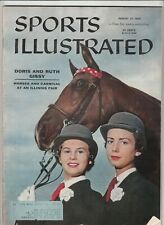 August 27, 1956 Sports Illustrated Magazine Doris & Ruth Gissy on Cover