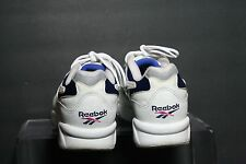 Reebok Walk DMX Vintage OG Sneaker Athletic Multi Women 9.5 Hip White Blue Ath