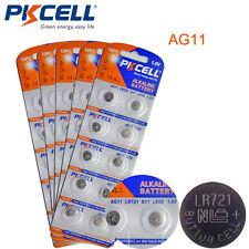 50 X 1.5V AG11 SR721W Alkaline Button Coin Battery LR721 362 162 Watch Cell