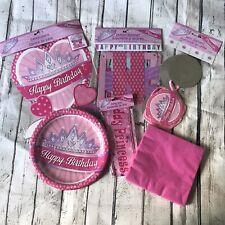 Happy Birthday Princess Starter Decoration Bundle 6 Items