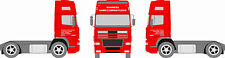 Custom Truck Decal Set Vinyl Graphics Stickers Kit Sign Writing Decals Business