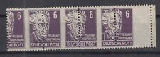DC7985/ GERMANY SOVIET ZONE – MI # 213 MINT MNH STRIP – SPECTACULAR PERF VARIETY