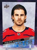 PHILIPPE MAILLET 2020-21 UPPER DECK 2 YOUNG GUNS ROOKIE RC #486 CAPITALS